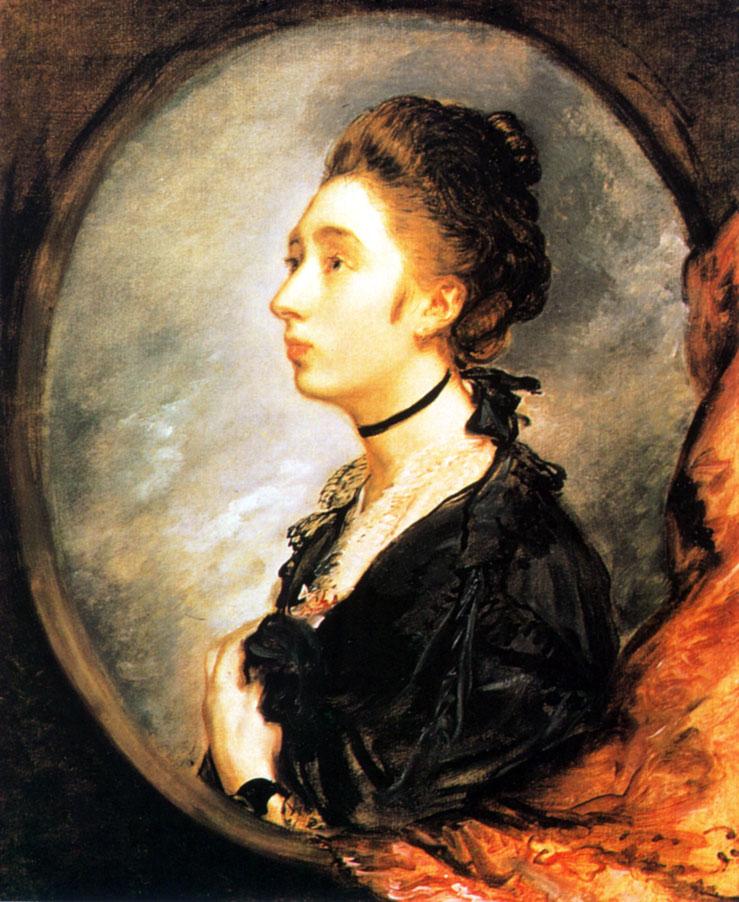 11. Маргарэт Гейнсборо (дочь художника). Ок. 1770. X., м. Лондон, Национальная галерея