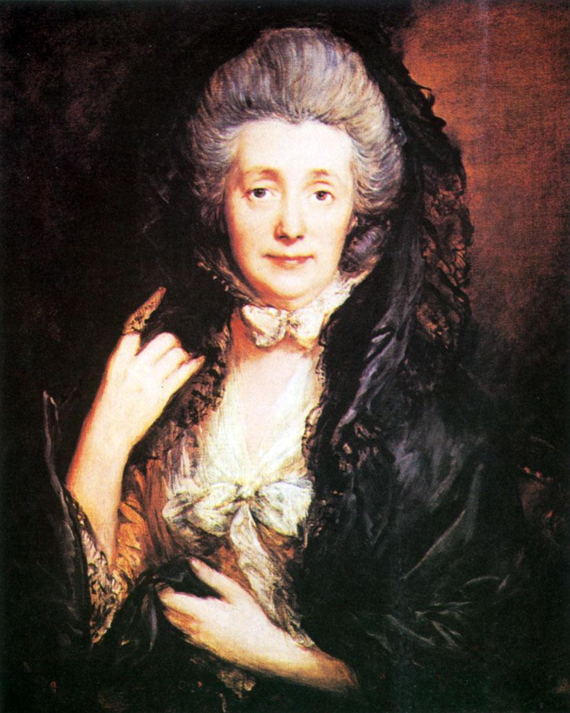 34. Маргарэт Гейнсборо (жена художника). Ок. 1778. X., м. Лондон, Институт Курто