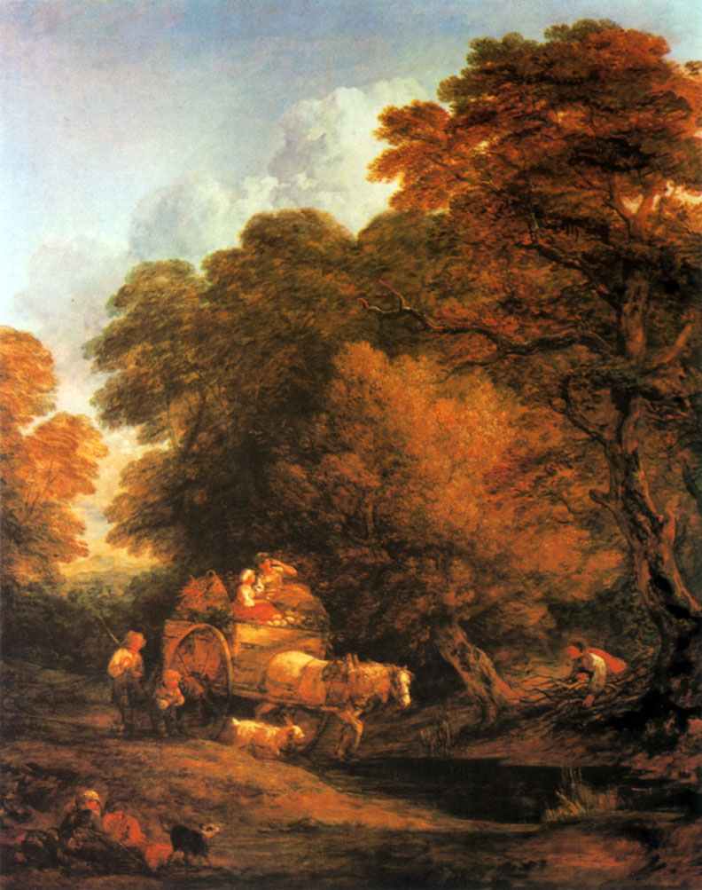 84. Рыночная  повозка. 1786/87. X., м. Лондон, Галерея Тейт