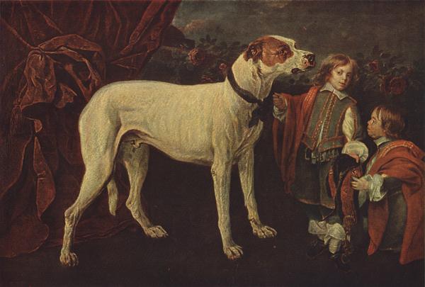 Фейт большая собака карлик и ребенок
