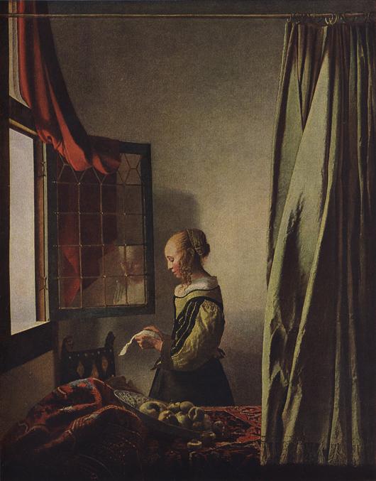 Ян вермер делфтский ян вермер делфтский (1632-1675) родился в делфте (п