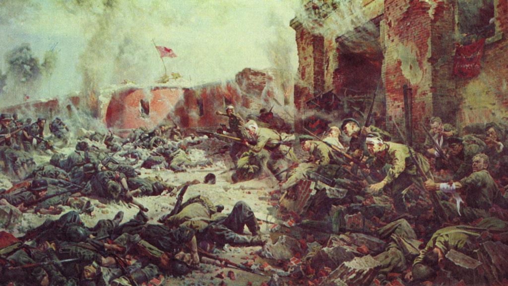 защитники брестской крепости фото